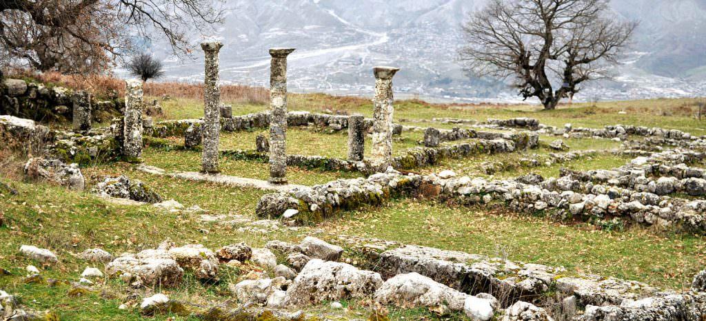 Antigonea Archaeological Park Gjirokastra