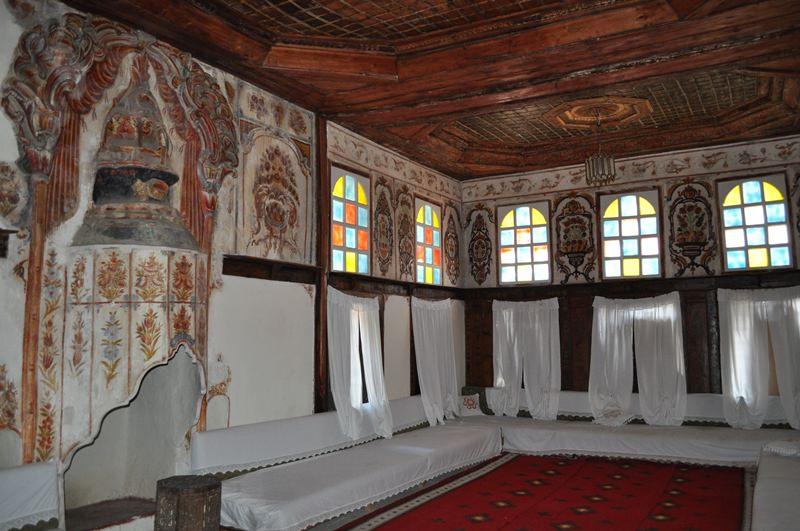 Zekate House inside Gjirokastra