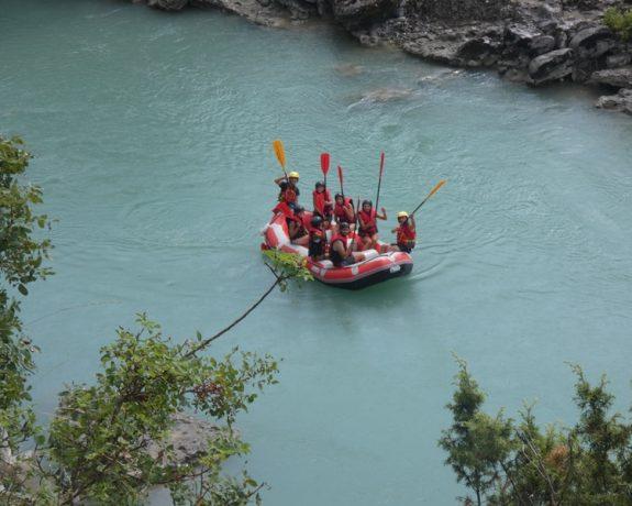 rafting in vjosa