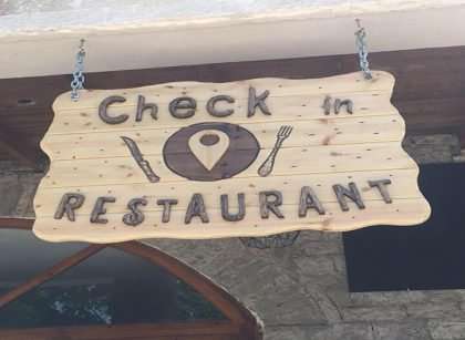 Restorant Check in located in gjirokastra city