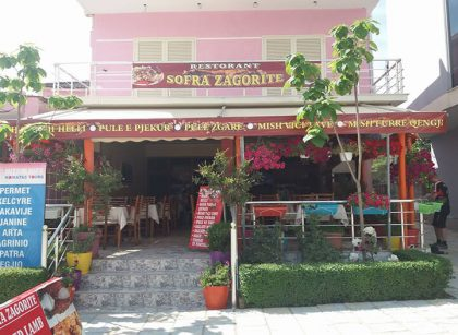 Sofra Zagorite Restaurant in Permet Albania
