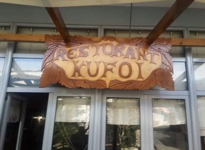 taverna Kufoi Gjirokaster best place to eat