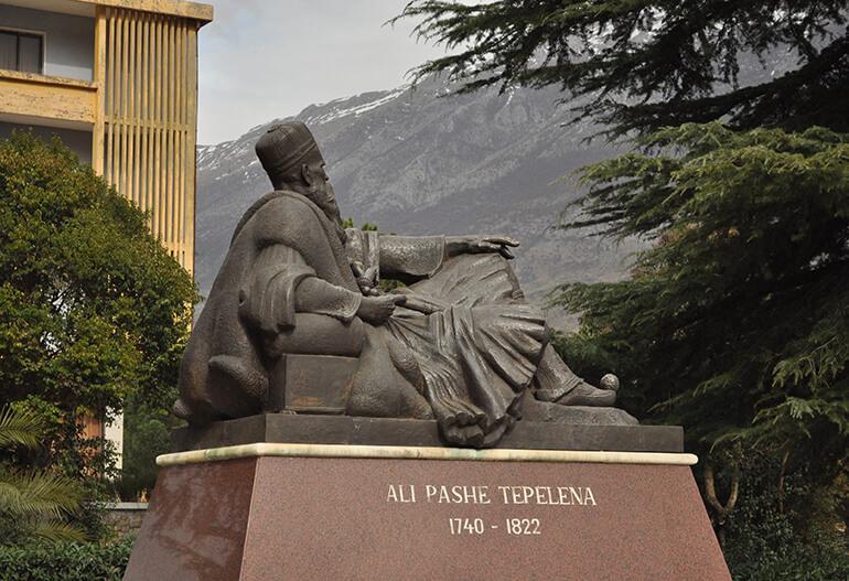 Ali Pashe Tepelena-Castle Visit gjirokastra