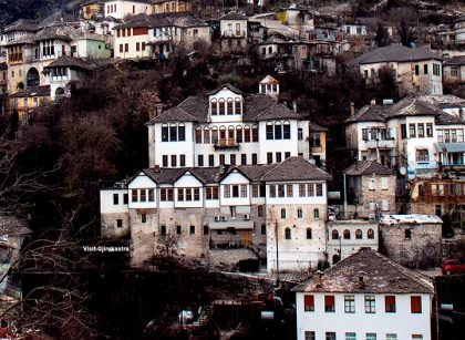 Angonate House Gjirokastra -name
