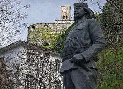 Cerciz Topulli Monument-Gjirokastra