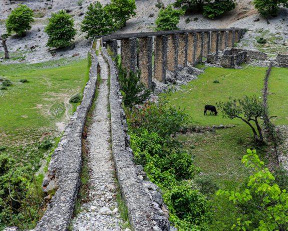 Ali Pasha aqueduct bence tepelene