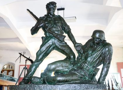Army Museum in Gjirokastra