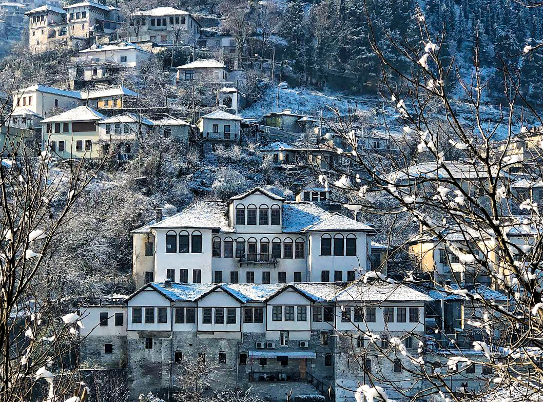 Visit Gjirokastra in winter